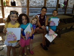 Arts & Crafts at Summer Camp