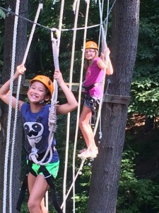Challenge Course at Summer Camp