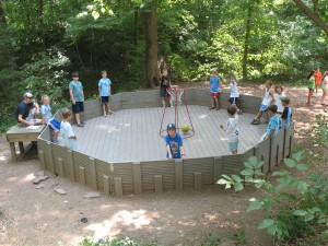 Gaga Ball at Summer Camp