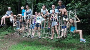 Ropes Course at Summer Camp